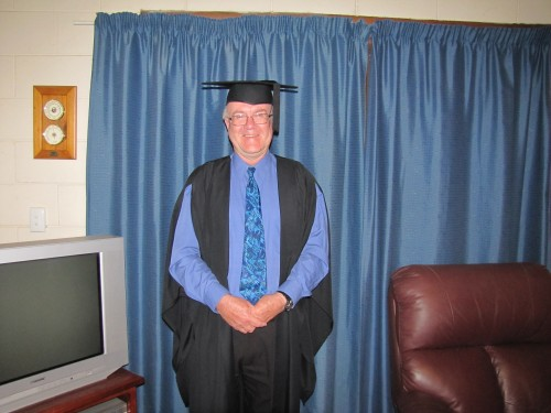 Graduation - Master of Arts Creative Writing