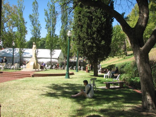 2010 Writers' Week, Pioneer Women's Memorial Gardens, Adelaide