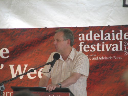 Premier Mike Rann at Adelaide Writers' Week 2010
