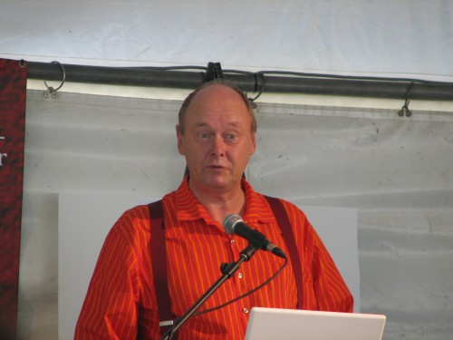 Nicholas Drayson at Adelaide Writers' Week 2010