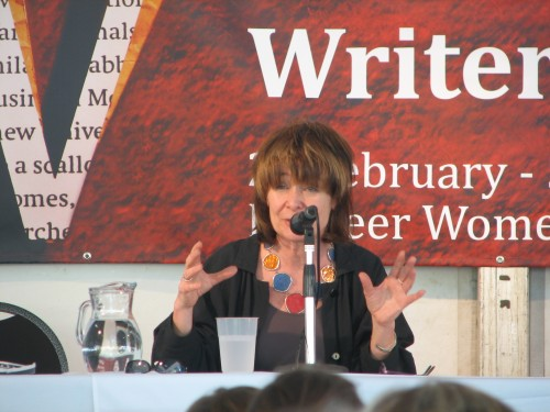 Sarah Dunant at Adelaide Writers Week 2010