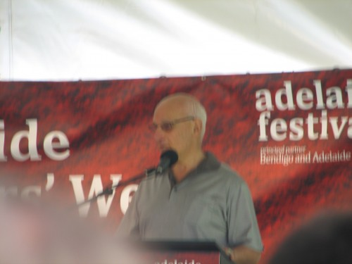 Novelist David Malouf, Adelaide Writers Week 2010