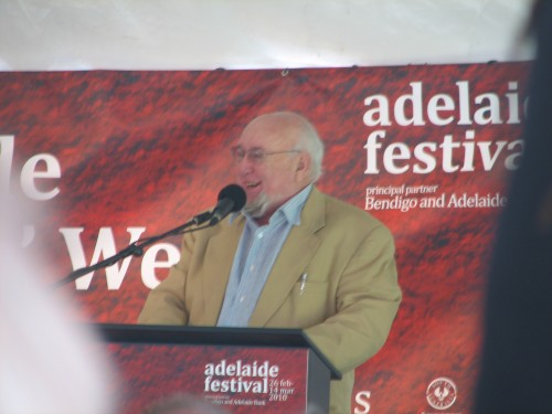 Tom Keneally, Adelaide Writers Week 2010